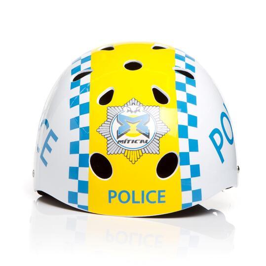 Casco Bici Niña MÍTICAL POLICE Blanco (S)