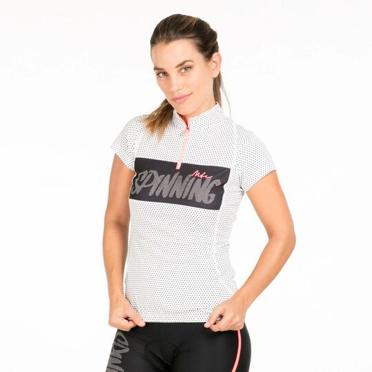 Maillot Ciclismo Manga Corta MÍTICAL Estampado Mujer