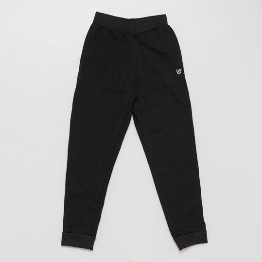 Pantalón Largo UP BASIC Felpa Negro Niña (10-16)