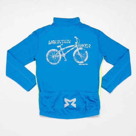 Maillot Ciclismo Azul Niño Mitical Bronce