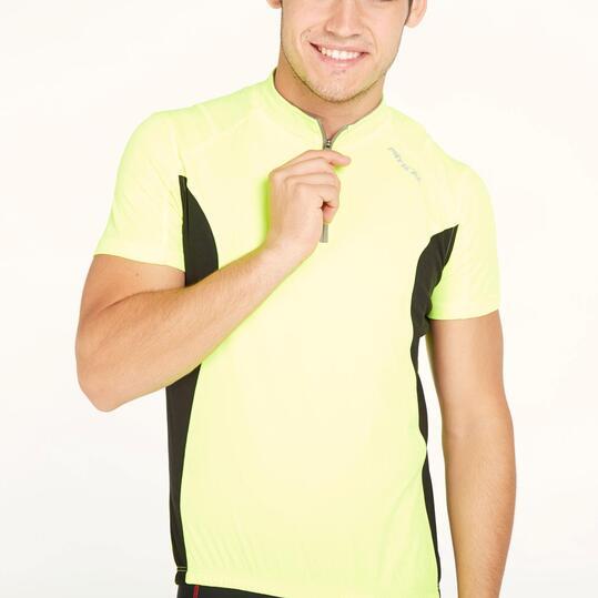 Maillot Ciclismo Amarillo Hombre Mitical Bronce