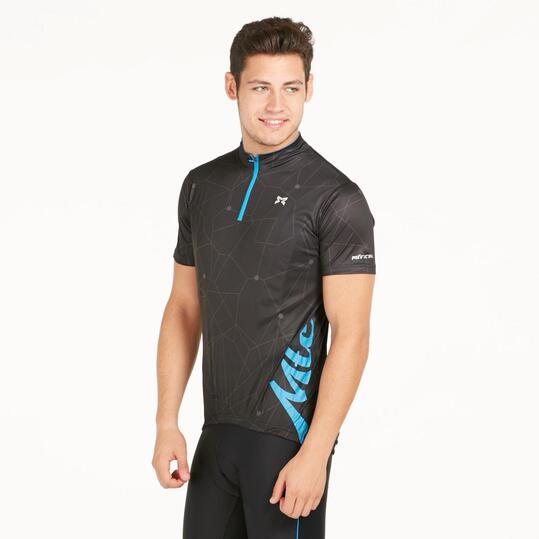 Maillot Ciclismo Negro Hombre Mitical Bronce
