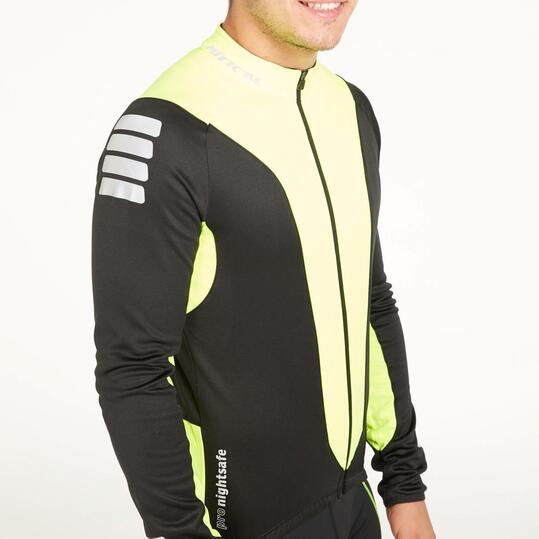 Maillot Ciclismo MÍTICAL REFLECTIVE Negro Amarillo Hombre