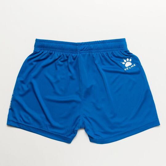 KELME Pantalón Corto Fútbol Azul Niño (8-16)