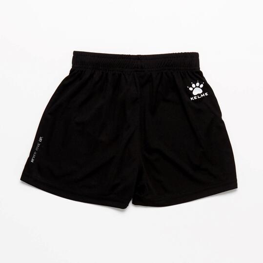 KELME Pantalón Corto Fútbol Negro Niño (8-16)