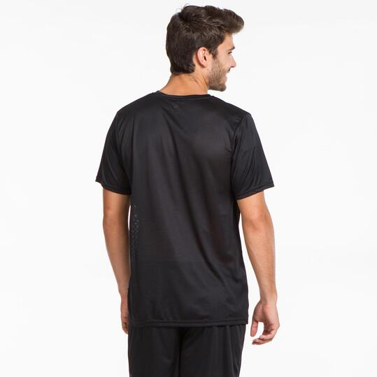 KELME Camiseta Fútbol Negro Hombre
