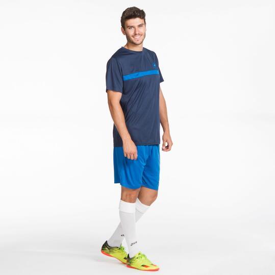 KELME Camiseta Fútbol Marino Hombre