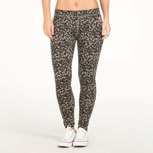 KELME Leggins Estampados Leopardo Mujer