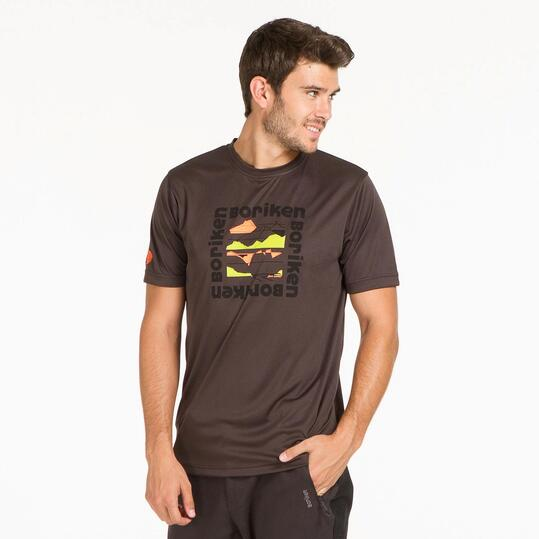 Camiseta Gris BORIKEN HUNZA Hombre
