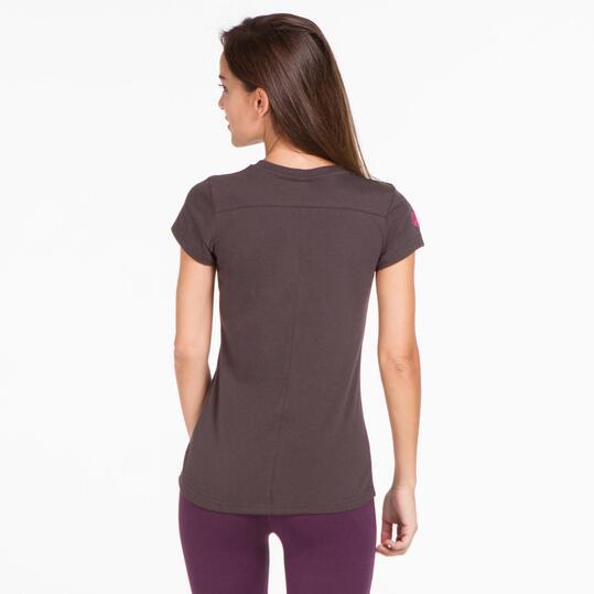 Camiseta Gris BORIKEN HUNZA Mujer