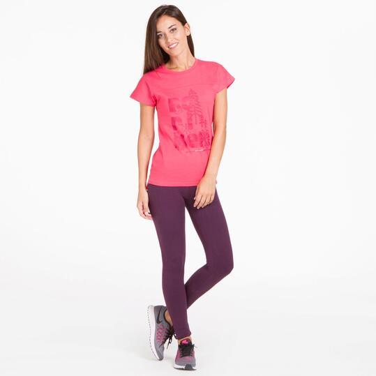 Camiseta Rosa BORIKEN HUNZA Mujer