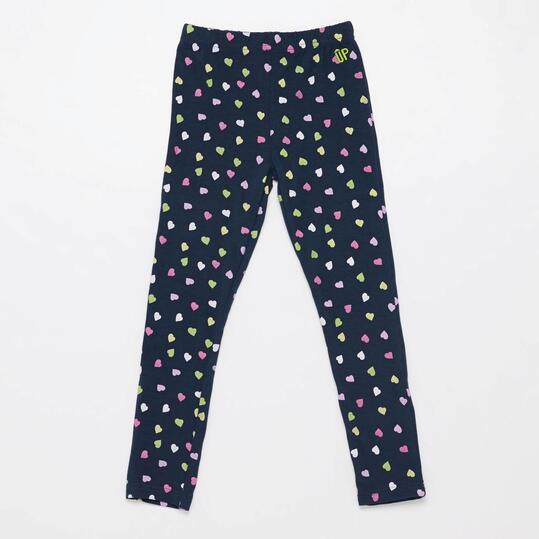 Leggins Estampados UP BASIC Marino Niña (2-8)