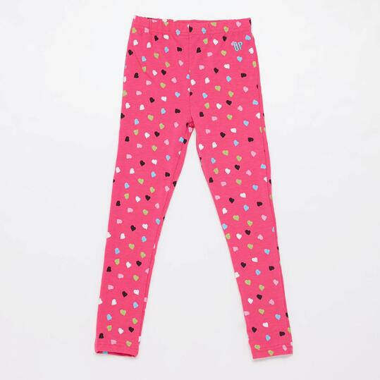 Leggins Estampados UP BASIC Fucsia Niña (2-8)