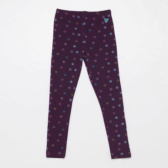 Leggins Estampados UP BASIC Morado Niña (2-8)