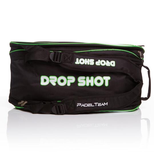DROP SHOT Paletero Pádel Negro Verde