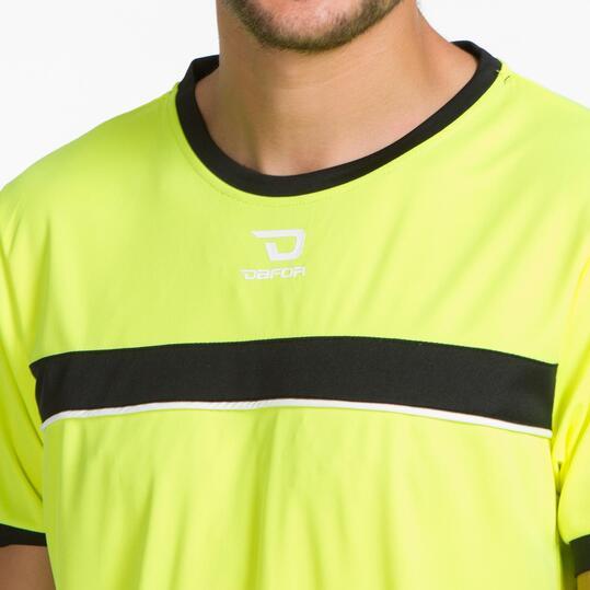 Camiseta Fútbol DAFOR Amarillo Negro Hombre