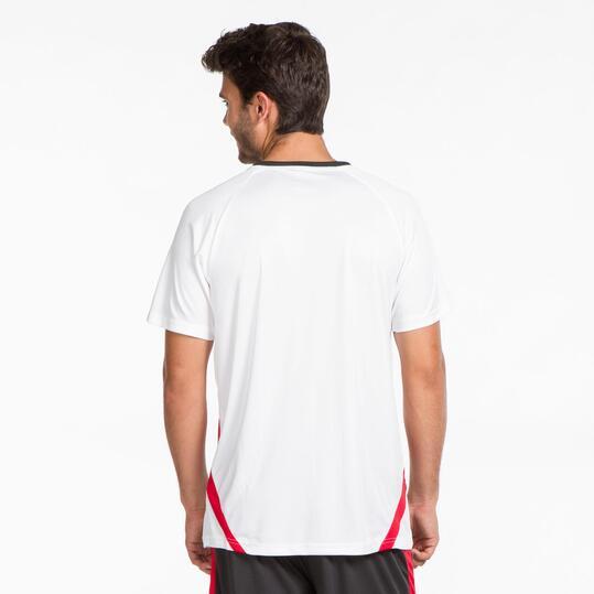 Camiseta Fútbol DAFOR Blanca Hombre