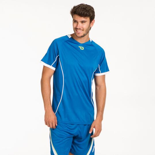Camiseta Fútbol DAFOR Azul Hombre