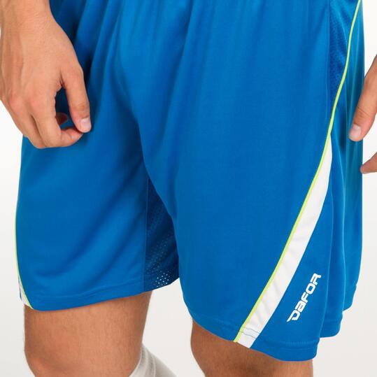 Pantalón Fútbol DAFOR Azul Hombre