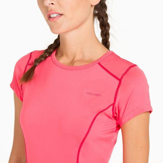 Camiseta Tenis PROTON Fresa Mujer