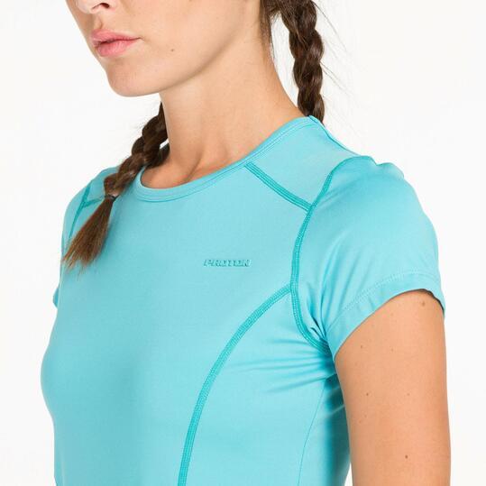 Camiseta Tenis PROTON Turquesa Mujer
