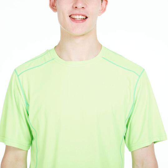 Camiseta Tenis Básica PRONTON Verde Hombre
