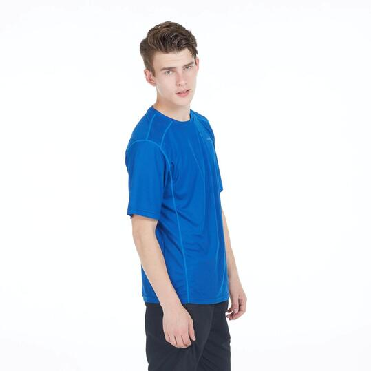 Camiseta Tenis Básica PRONTON Azul Hombre