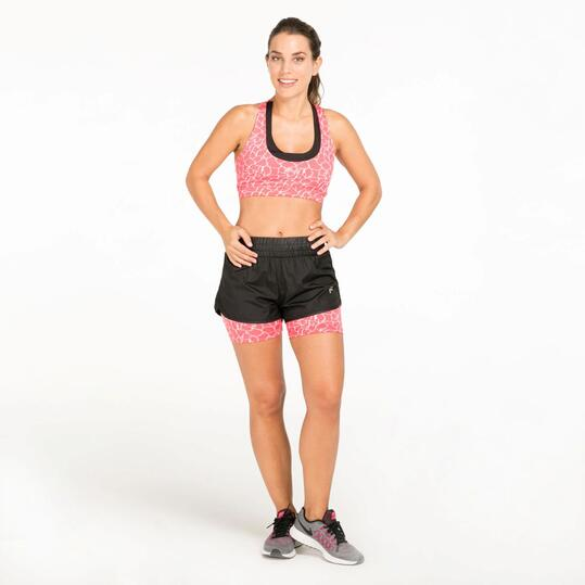 Top Deportivo Running IPSO Rosa Mujer