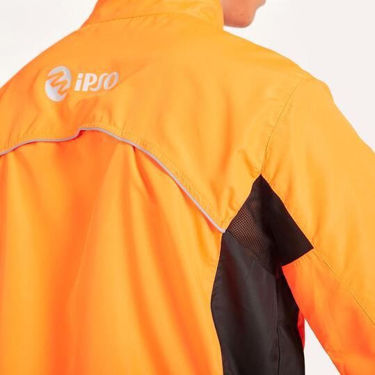 Cortavientos Running IPSO BASIC Naranja Hombre