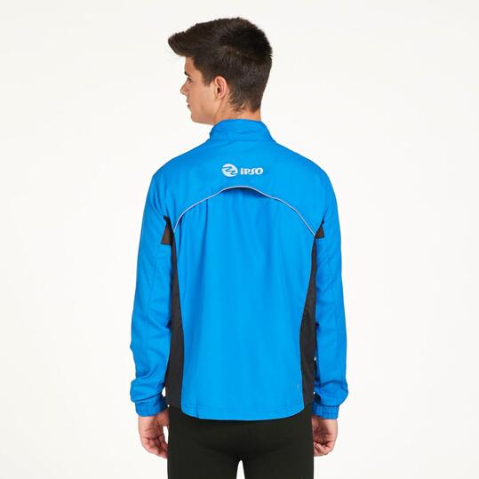 Cortavientos Running IPSO BASIC Azul Hombre