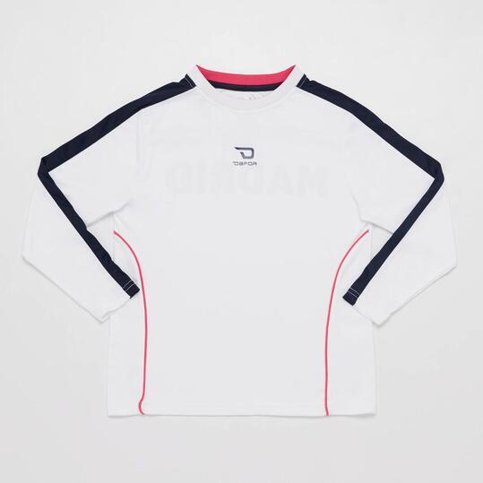 Camiseta Real Madrid DAFOR Blanco Niño (8-16)