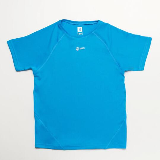 Camiseta Running IPSO Azul Niño (10-16)