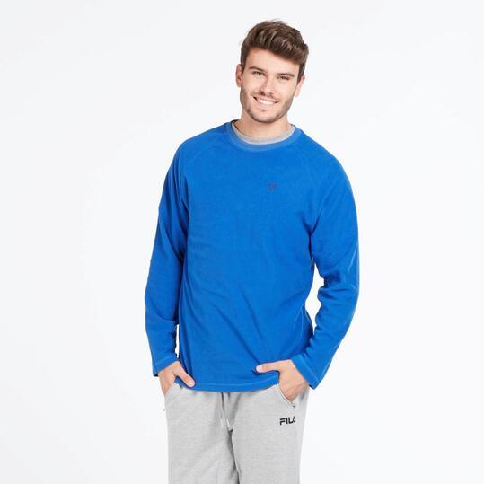 Forro Polar UP BASIC Azul Hombre