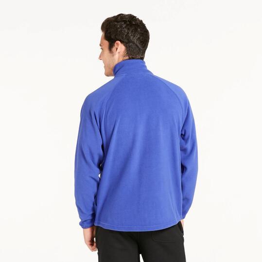 Polar Cremallera UP BASIC Azul Hombre