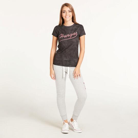 Camiseta Manga Corta HARGUS Estampada Mujer