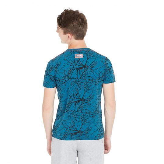 Camiseta Estampada HARGUS Denim Hombre