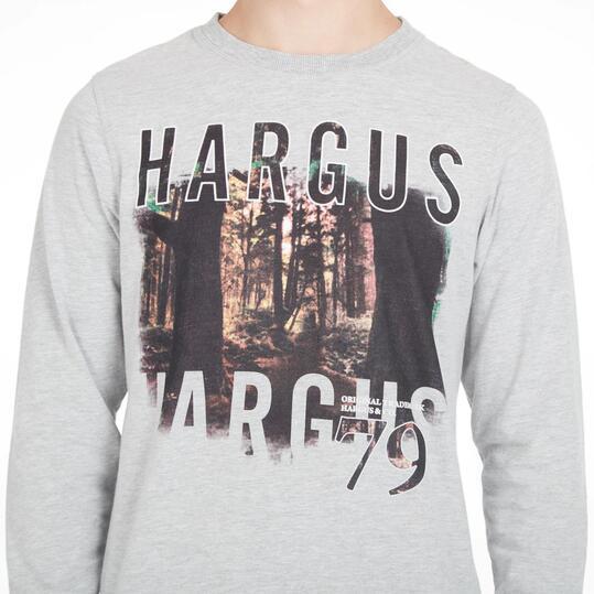 Camiseta Gris HARGUS Hombre