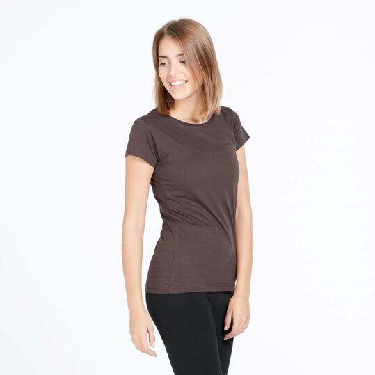 Camiseta Básica BORIKEN Gris Mujer