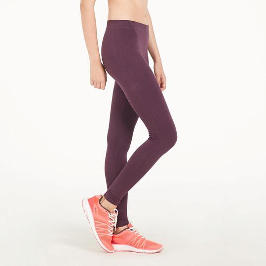 Mallas Largas UP BASIC Morado Mujer