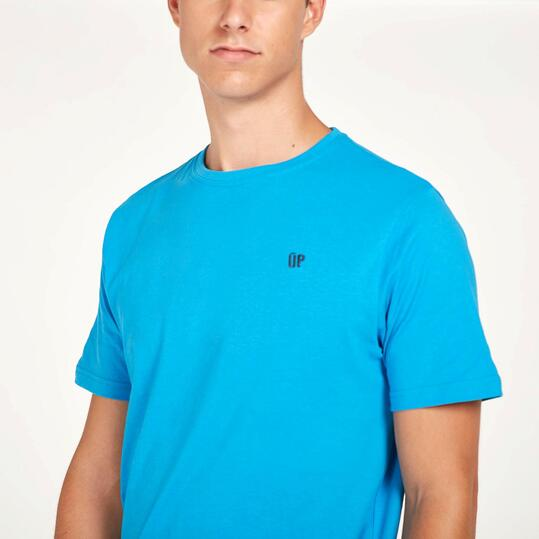 Camiseta Manga Cortas UP BASIC Azul Hombre