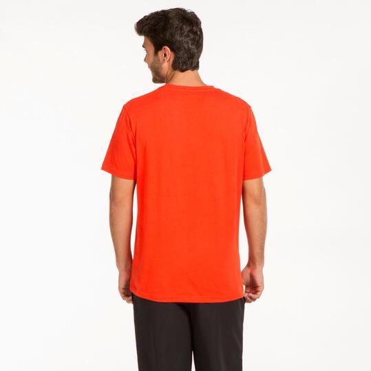 Camiseta Básica UP Rojo Hombre
