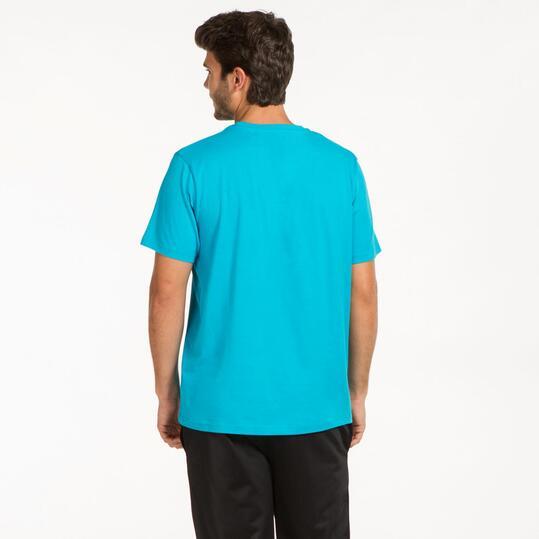 Camiseta Básica UP Turquesa Hombre