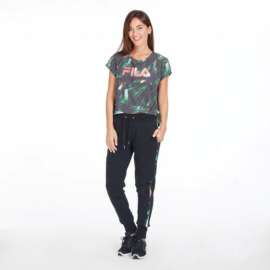 FILA Camiseta Manga Corta Estampada Mujer