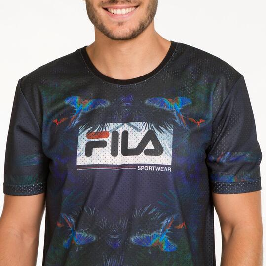 FILA Camiseta Estampada Hombre