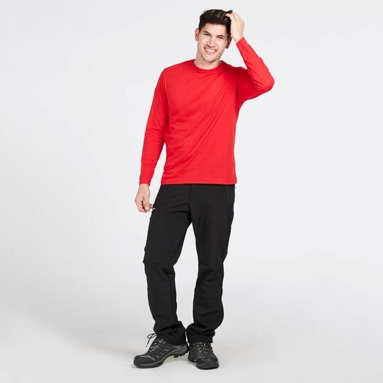 Camiseta Manga Larga BORIKEN Rojo Hombre
