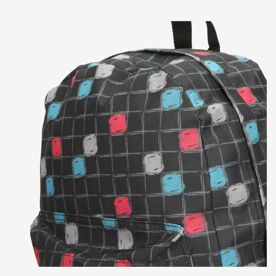 UP Mochila Escolar Estampada Cuadros