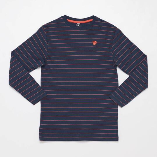 Camiseta Manga Corta UP BASIC Marino Niño (10-16)