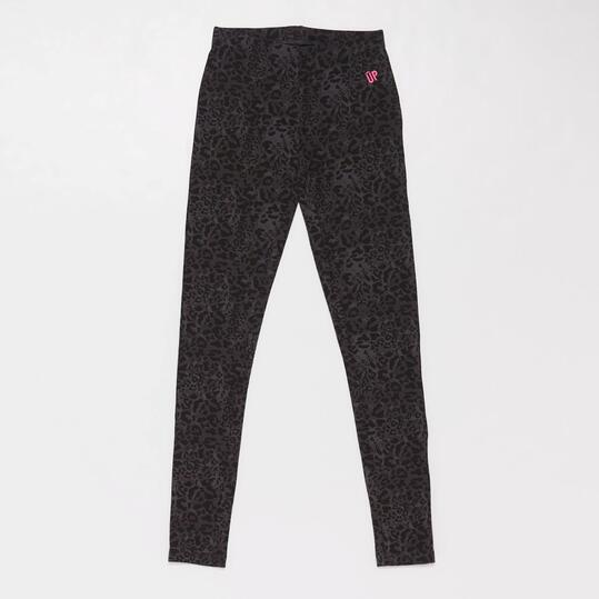 Leggins Estampados UP BASIC Gris Niña (10-16)