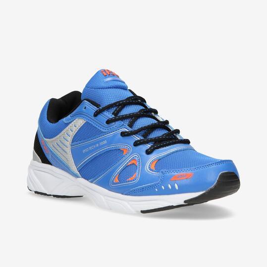 Zapatillas Running IPSO TECH Azul Hombre