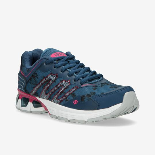 Zapatillas Running IPSO TRACK 5 Azul Mujer